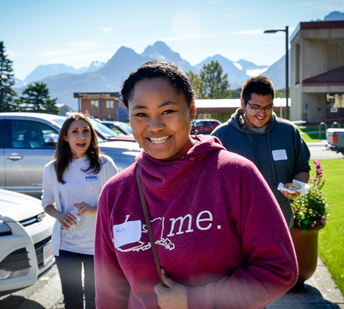 Student clubs at Prince William Sound College in Valdez, Alaska