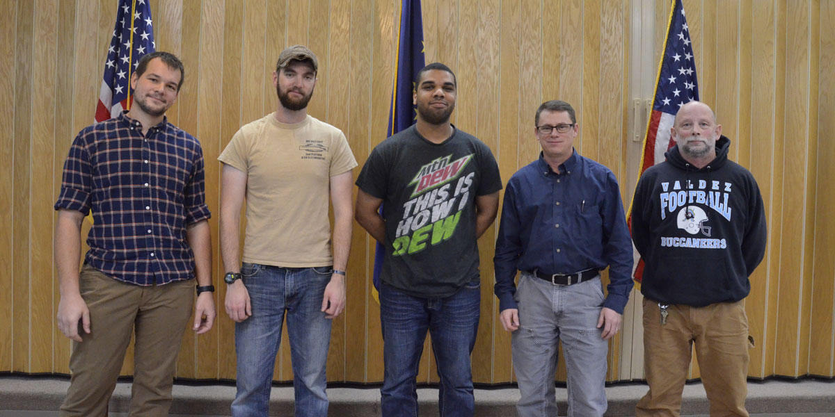 PWSC veterans at college event