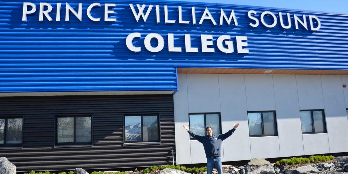 Prince William Sound College (PWSC) campus in Valdez, Alaska