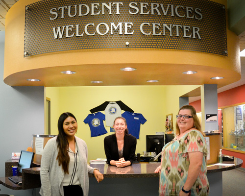 Student Affairs at PWSC