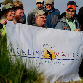 Healing Waters event
