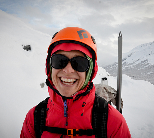 Meg McKinney, Outdoor Leadership Instructor at Prince William Sound College in Valdez, Alaska