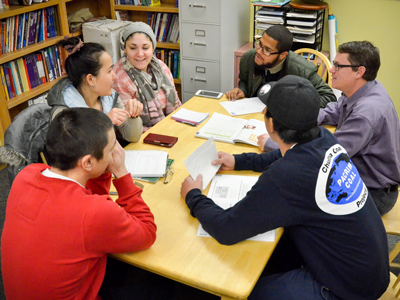 English as a second language class at PWSC