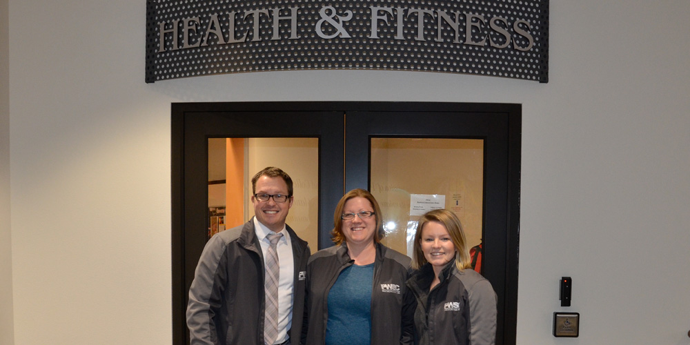 Healthier Valdez staff at the PWSC Health & Fitness Center